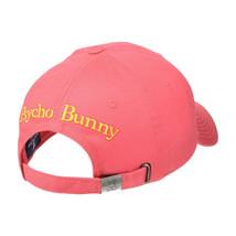 Psycho Bunny Men's Embroidered Cotton Sports Baseball Cap Strapback Hat image 2