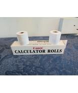 """7 Rolls Canon Palm Printer, Bond Paper 1.5"""" X 32' (P1-D, P3-D, P5-D, P6-... - $9.96"""