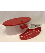 Red microwave pasta boat thumbtall