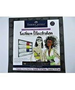 Faber-Castell Fashion Illustration Getting Started Art Kit 19 Pieces Gou... - $23.41