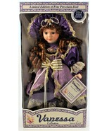 Vanessa Doll by Vanessi Ricardi Fine Porcelain & Limited Edition Doll - $34.64