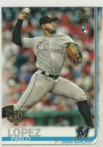 2019 Topps 150 Years Gold Stamp #151 Pablo Lopez RC Rookie Card > Marlins - $1.20