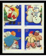2005 37c Christmas Cookies, Block of 4 Scott 3957-3960 Mint F/VF NH - $5.49