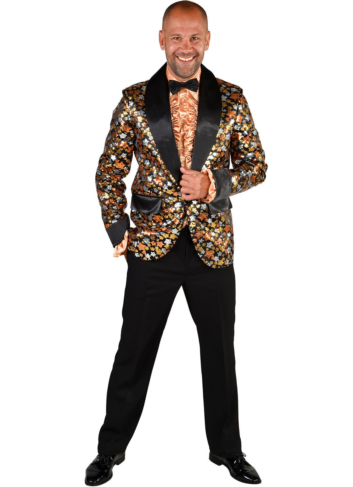 "Deluxe ""Star"" Jacket - Cabaret / Showman / DJ/ Entertainer , XS to XXL"
