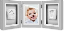 Pearhead Babyprints 4-Inch x 6-Inch Deluxe Photo Frame in Grey - $38.91