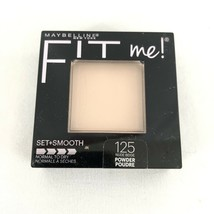 Maybelline Fit Me! Set+Smooth Powder Normal to Dry 125 Nude Beige - $7.84