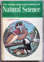 The Golden Book Encyclopedia Of Natural Science Volume 16 Wagtails to In... - $5.77