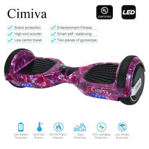 Purple Galaxy Bluetooth Hoverboard Two Wheel Balance Scooter UL2272 - $249.00