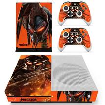 Xbox one S Slim Console Skin Vinyl Decals Sticker Wrap Aliens The Predator Film  - $13.00