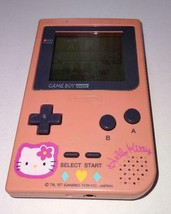 Nintendo Hello Kitty Game Boy Pocket Game SetVideo Game From Japan Offic... - $59.39
