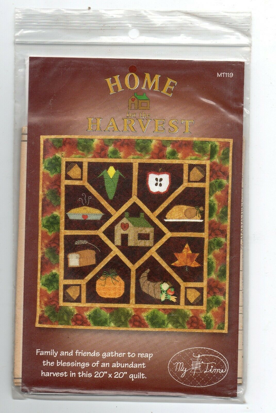 Primary image for 1999/Home Harvest/UNCUT Quilt Pattern