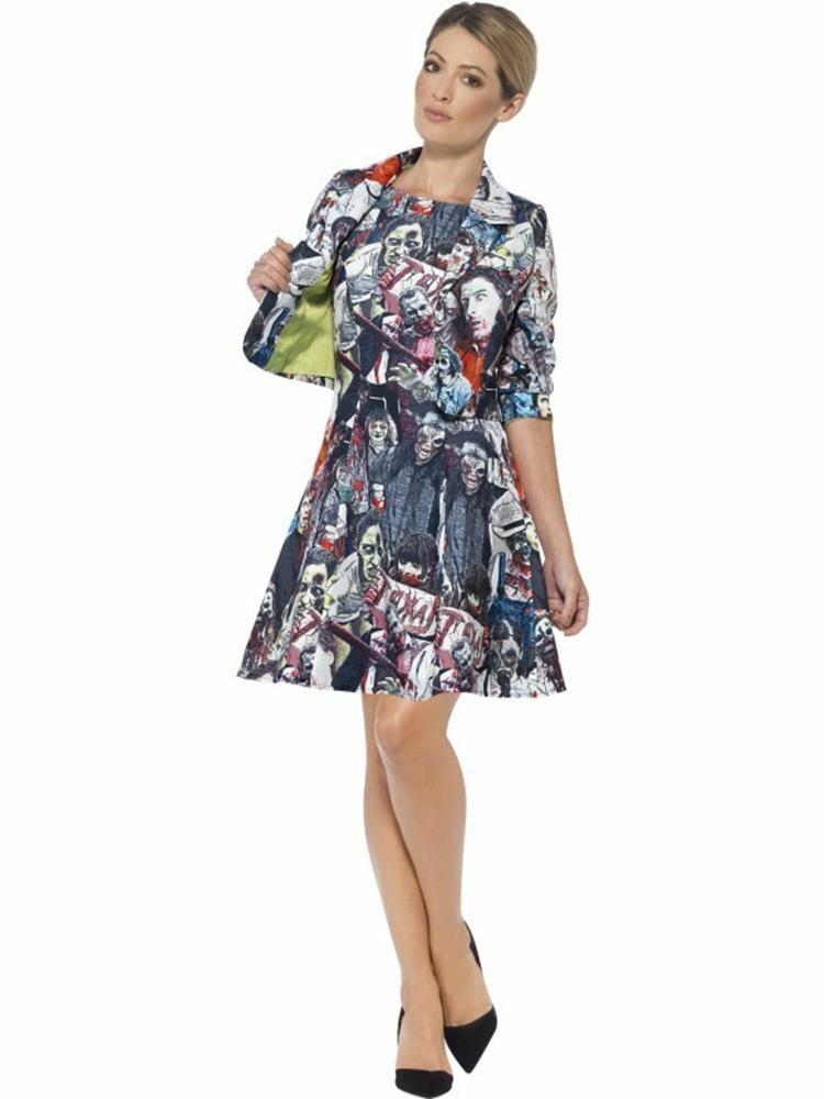 Zombie Suit, Large, Halloween Fancy Dress, Womens, UK 16-18 #AU - $63.19