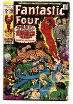 FANTASTIC FOUR #100 1970- THE THING-JACK KIRBY MARVEL G - $24.83