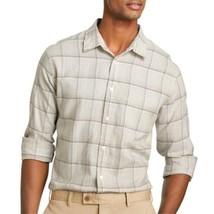 Van Heusen Linen-Rich Button-Front Shirt Size S, M Msrp $54.00 New - $14.99
