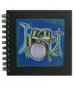 BuyGifts Blue Drumset Journal - $13.15
