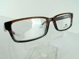 Lacoste L-2685 (210) Striped Brown Grey 53 X 16 140 mm Eyeglass Frames E... - $63.07