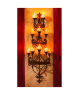 """48.5"""" High Carbonne Candle Chandelier Wall Sconce - $149.95"""