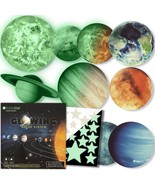 Glow in The Dark Stars and Planets, Bright Solar System Wall Stickers -9... - $58.06