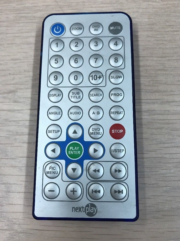 Nextplay Remote Control Tested And Cleaned     (R9)