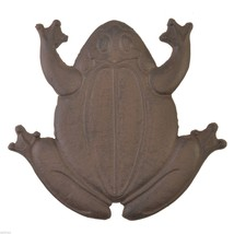 Decorative Frog Stepping Stone Cast Iron Yard G... - $20.69