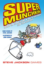 Super Munchkin by Steve Jackson Games - 1st Edition - Quick shipping - $21.95