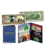 WIZARD OF OZ Cast Genuine U.S. $2 Bill in SPECIAL 8x10 COLLECTIBLE GIFT ... - £13.35 GBP