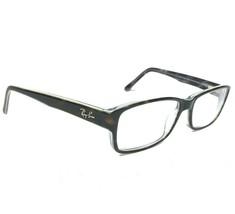 Ray-Ban Eyeglasses Frames Brown Tortoise Clear Rectangular Full Rim RB51... - $37.40