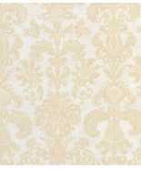 Per Yd. Victorian Looking Print, Makower, Quilt Fabric, Deep Ivory on Eg... - $3.97