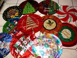 Christmas Mylar Balloons Big Lot Home Office Party Bar Pub Decor Plus Fr... - $13.36