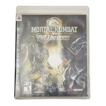 PS3 Mortal Kombat vs DC Universe Video Game (Complete, 2008) - $14.46