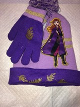 Disney Frozen Ii Little Girls Hat And Gloves New With Tags 2019 - $15.47