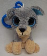 "TY Keychain Clip SCRAPS PUPPY DOG 3"" Plush STUFFED ANIMAL Toy - $14.85"