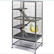 Large Animal Cage Small Pets Ferrets Chinchilla 3 Platform Ramps with St... - $145.00