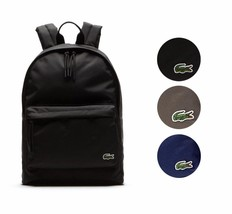 New Lacoste Men's Premium Polyester Neocroc Adjustable Bag Backpack NH1595NE