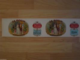 LA BODA CIGAR LABEL CAN LABEL 1924 GOLD COINS T... - $6.79