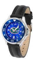 Florida Gators Women Ladies Competitor Leather AnoChrome Watch Bezel - $103.50