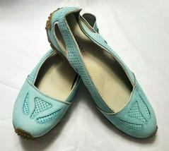 Merrell Performance Footwear Womens Size 7.5 Nubuck Hiking Flats Vibram Sole - $40.70