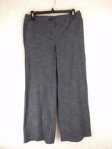 Ann Taylor LOFT Pants 6 Ann Fit Dark Chambray Lightweight Denim Straight... - $24.99