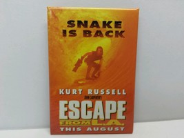 Kurt Russell Escape From LA Movie Promo Promotional Pinback Pin Button - $4.99