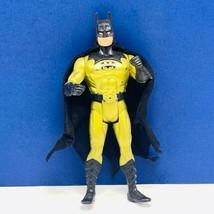 Super Powers Action Figure 1990 Kenner Justice League Dc Comics Batman Gold Vtg - $19.75