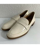 Lucky Brand Chantara Womens Loafers Size 7 Patent Off White Slip On Flats - $29.70