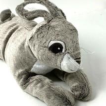 Ikea Vandring Gray Hare Plush Bunny Rabbit Grey Soft Stuffed Animal Machine Wash - $14.99
