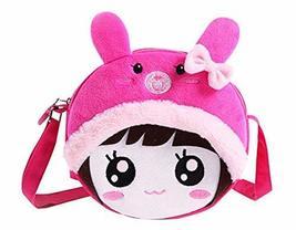 PANDA SUPERSTORE Princess Messenger Bag Kindergarten Children Shoulder Bag Cute  - $16.27