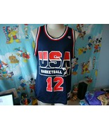 Vintage 90's USA Olympics Dream Team Dominique Wilkins NBA Champion Jers... - $113.85