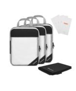 8pcs/set Travel Storage Bag Suitcase Mesh Pocket & 4 Reusable Zip Bags -... - $26.90