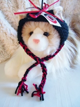 Carolina HURRICANES Handmade Hockey Cat Hat - $15.00