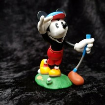 Vintage Disney Mickey Mouse Golf Christmas Ornament 1997 Hallmark Keepsake - $19.79