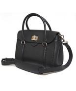 New $2650 Fendi Selleria Linda Mini X Body Messenger Black Leather Bag - $1,272.04