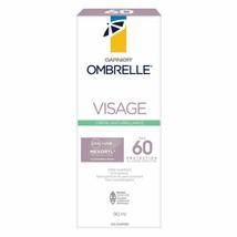 Garnier Ombrelle Face Anti-shine Cream SPF60 90ml Each Fresh Long Exp. - $19.75