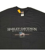 Harley-Davidson Plain City Ohio Black Short Sleeve T-Shirt Men's X-Large... - $28.88
